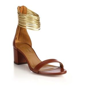 Aquazzura Spin Me Around Multi Strap Sandal
